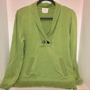 Banana Republic Green Sweatshirt